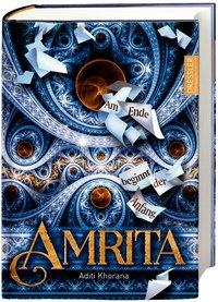 Cover Amrita Am Ende beginnt der Anfang