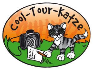 Katze mit Buch Logo_Cool_Tour_Katze