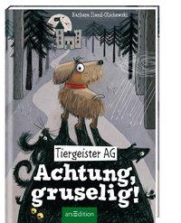 Cover Tiergeister AG Achtung gruselig