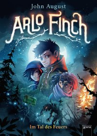 Cover Arlo Finch Im Tal des Feuers