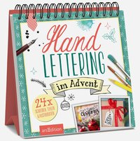 Cover Handlettering im Advent