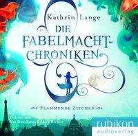 Cover Die Fabelmacht-Chroniken Flammende Zeichen