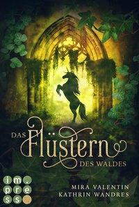 Cover Die Keloria Saga Das Flüstern des Waldes