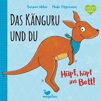 Cover Das Känguru und du Huepf huepf ins Bett