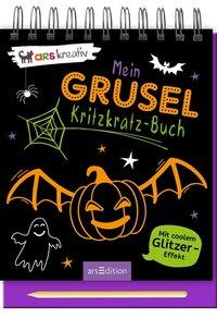 Cover Mein Grusel-Kritzkratz-Buch