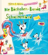 Cover Die Böckchen-Bande im Schwimmbad
