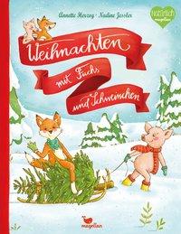 Cover Weihnachten mit Fuchs und Schweinchen