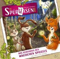 Cover Die Spürhasen-Bande Das Geheimnis des magischen Spiegels